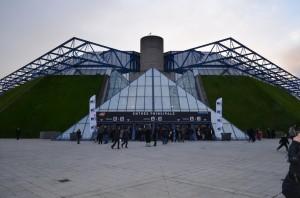 Le Palais Omnisport de Bercy
