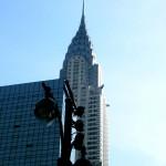 Manhattan La Chrysrler Tower
