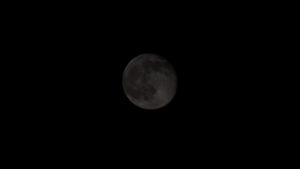 Pleine Lune - f/8 temps : 1/1500s ISO200