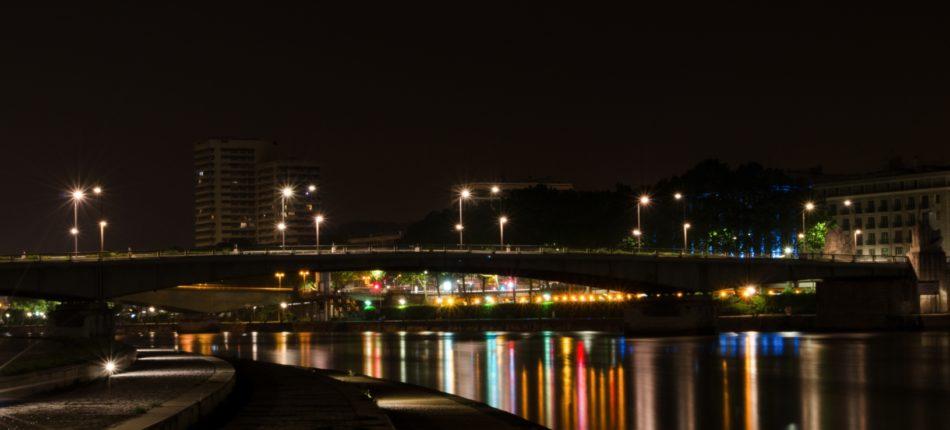 Le Pont Boieldieu à Rouen