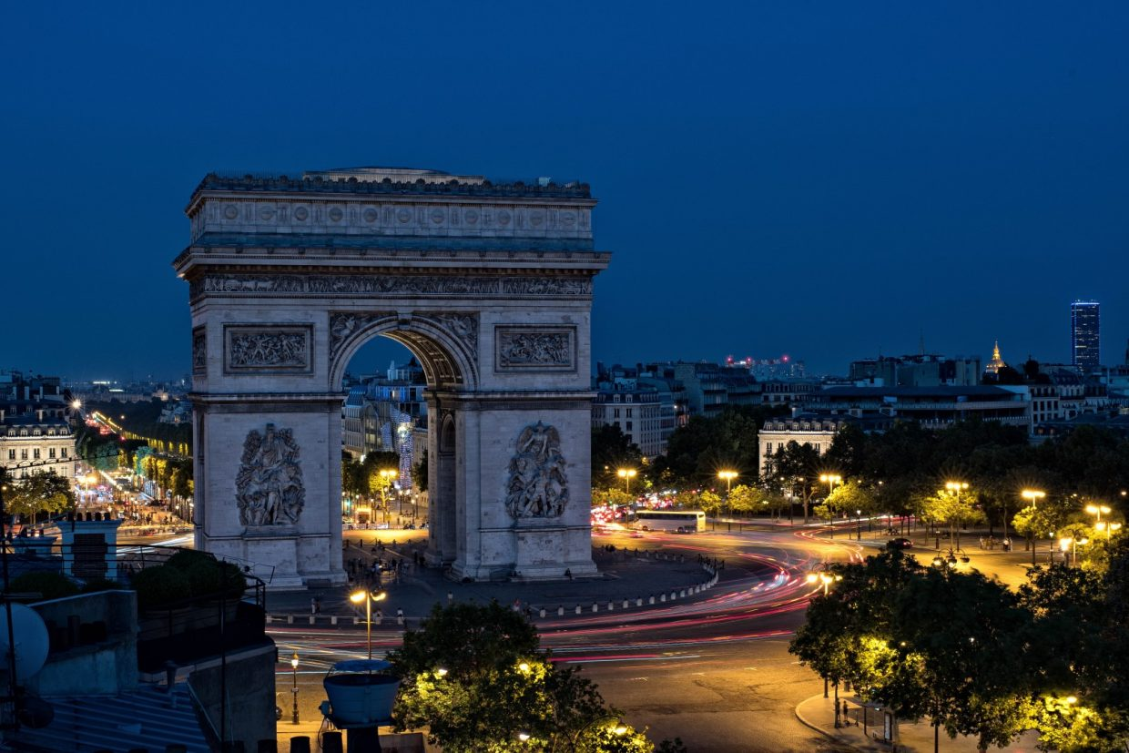 L'Arc de Triomphe, Nikkor on Top 2019